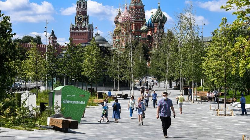 «Прошли ситуации, когда была крайняя опасность»: Собянин оценил обстановку в Москве после снятия ограничений по COVID-19