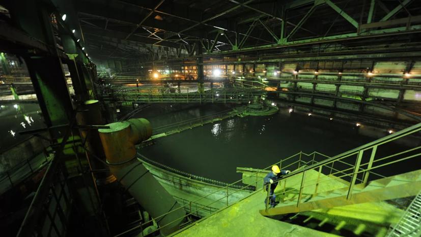 Росприроднадзор назвал причину слива отходов с фабрики в Норильске