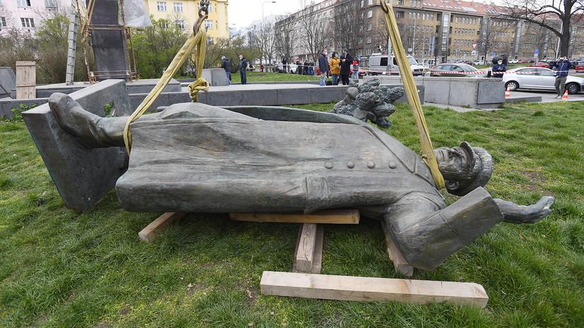«Не имеет к праву никакого отношения»: в МИД РФ ответили на слова главы района Прага-6 о монументе Коневу