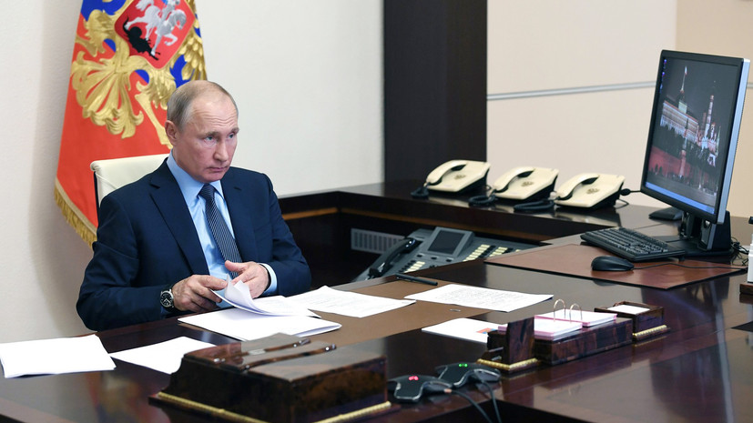 «Объединять усилия, а не обвинять друг друга»: Путин призвал бороться с последствиями эпидемии вместо поиска её причин