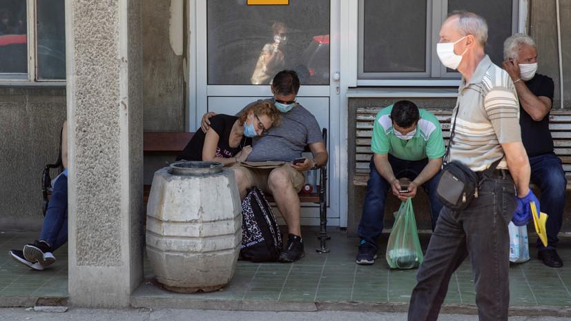 Число случаев коронавируса в Сербии превысило 14 тысяч