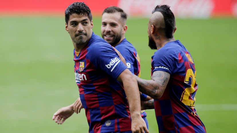 СМИ: Футболисты «Барселоны» поругались с главным тренером