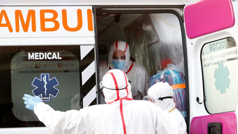 В Италии за сутки из-за коронавируса умерли 22 человека