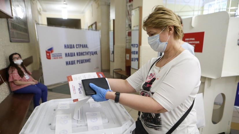 Явка на онлайн-голосование по Конституции достигла 80%