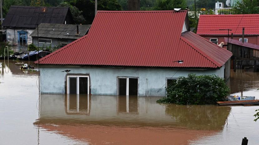 Во втором районе Приморья ввели режим ЧС из-за затоплений