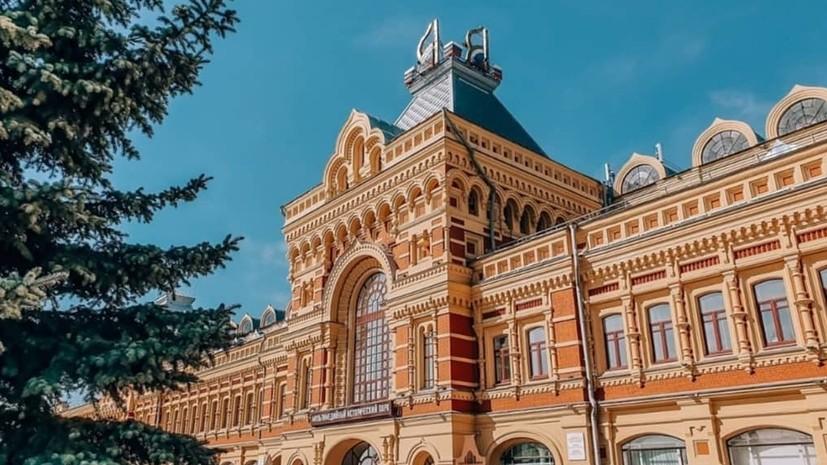 Новый павильон могут построить на территории Нижегородской ярмарки до конца сентября — октября