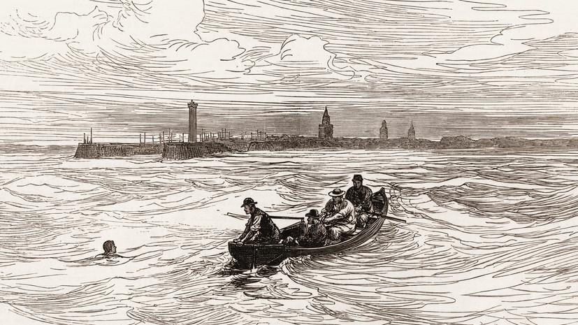 «Всё великое даётся нелегко»: 145 лет назад британец Уэбб впервые переплыл Ла-Манш