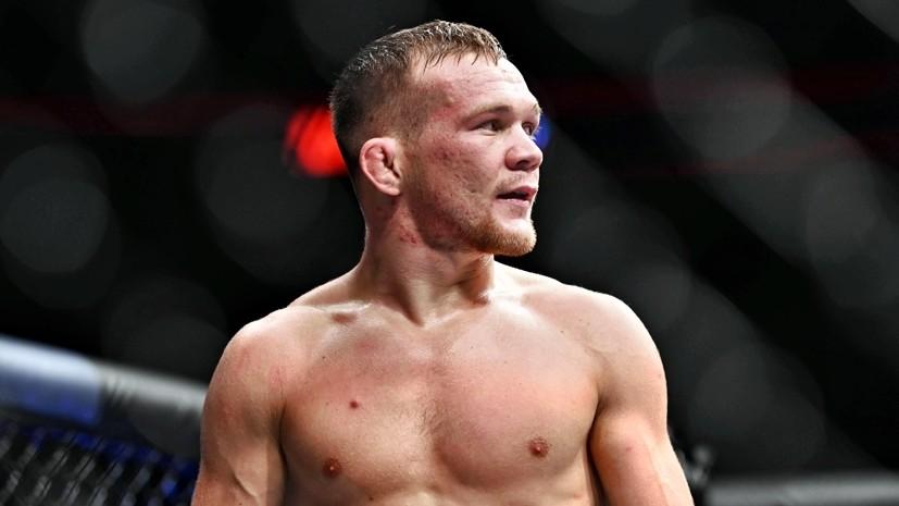 Боец UFC Томсон выразил надежду на победу Алдо над Яном