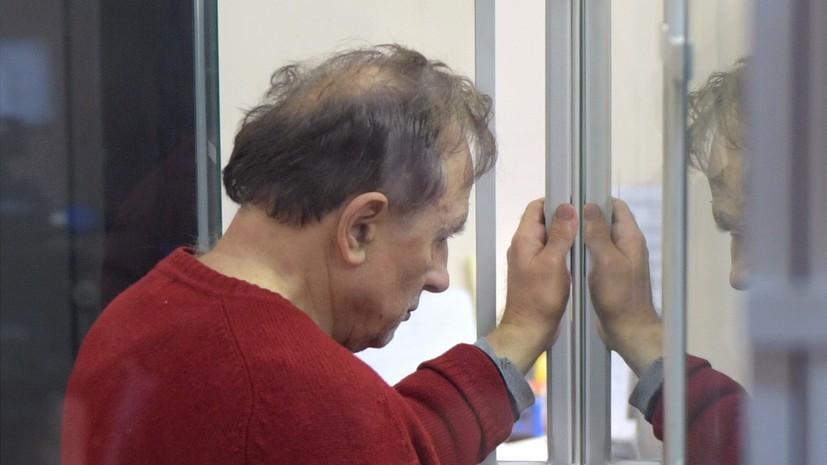 Обвинение просит провести закрытое заседание по делу историка Соколова
