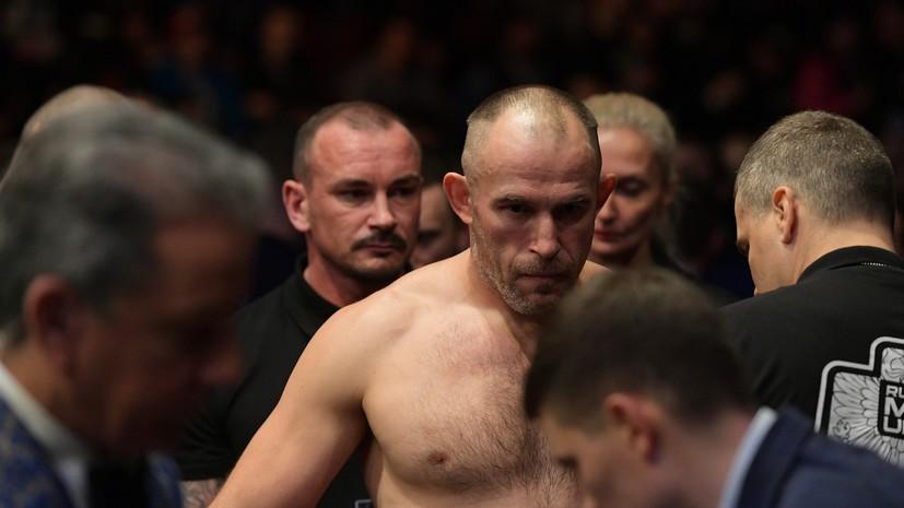 Олейник подписал новый контракт с UFC на улучшенных условиях