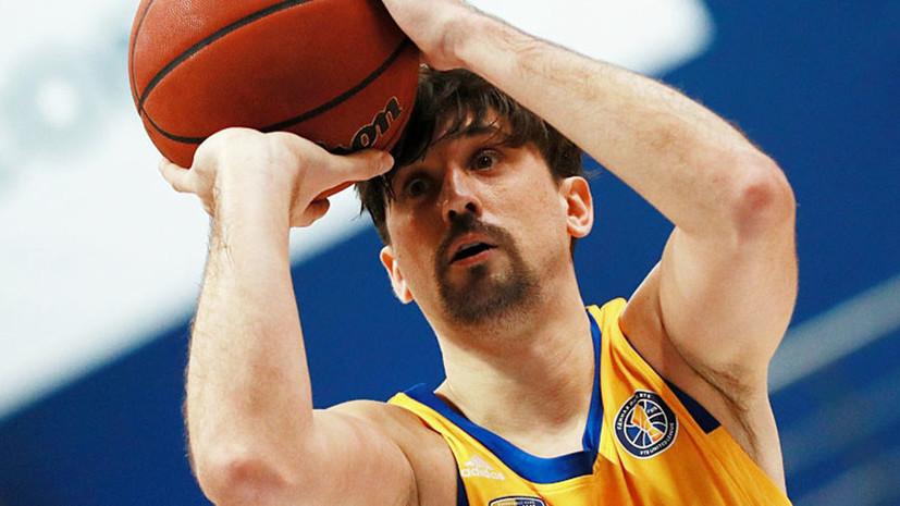 Куртинайтис назвал продлившего контракт с «Химками» Шведа лидером европейского баскетбола