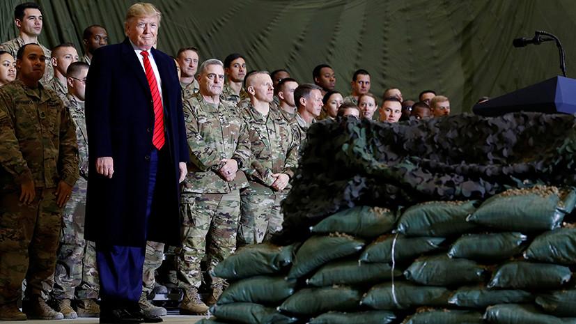«Разбалансировка элиты США»: как информация СМИ о «связях» России с талибами может быть использована против Трампа