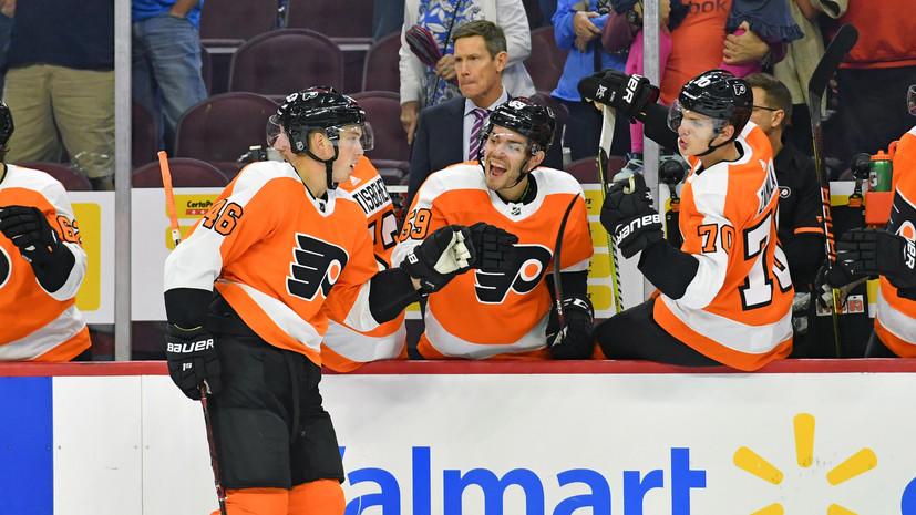 Хоккеист Воробьёв прокомментировал своё возвращение в «Салават» из «Филадельфии»