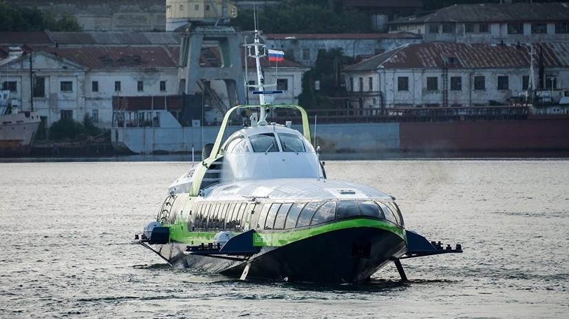 Пассажирские перевозки на судне «Комета» по маршруту Севастополь — Ялта возобновят с 1 июля