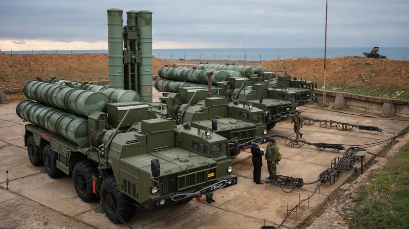 В ФСВТС заявили о невозможности реэкспорта С-400 без согласия России