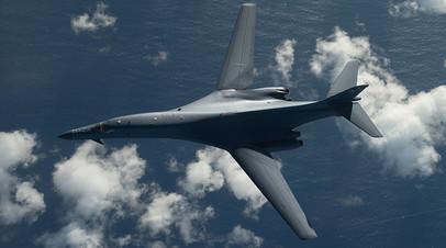 Стратегический бомбардировщик B1 Lancer