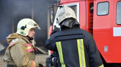 Спасатели ликвидировали крупный пожар в Красноярском крае