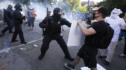Свыше 10 тысяч задержанных: как проходят протесты в США из-за гибели афроамериканца Флойда