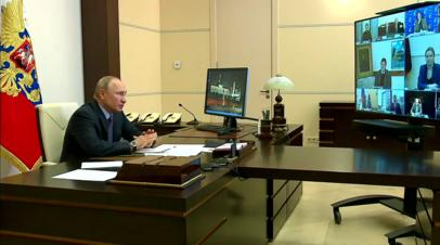 Путин поручил учесть сферу культуры в плане восстановления экономики