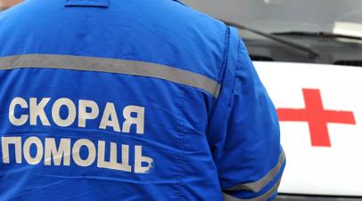 В Ингушетии шесть человек госпитализированы после столкновения автобусов