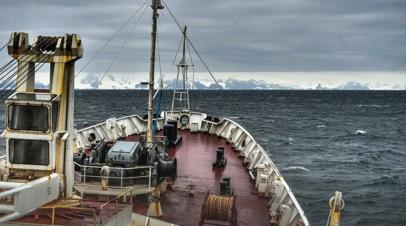 Российские исследователи обнаружили неизвестную впадину в Антарктике