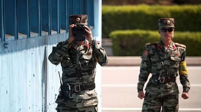 Демилитаризованная зона между Южной и Северной Кореей