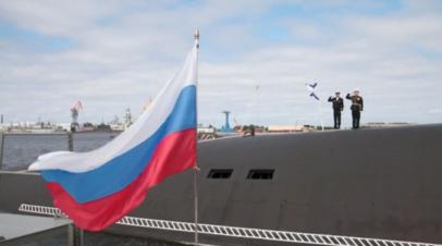 Атомную подлодку «Князь Владимир» приняли в состав российского ВМФ — видео