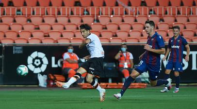 «Валенсия» сыграла вничью с «Леванте» в 28-м туре Примеры