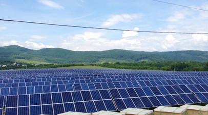 Солнечные панели на Украине