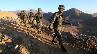 Южнокорейские войска переведены в режим повышенной готовности