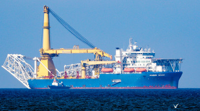 Трубоукладочное судно «Академик Черский»