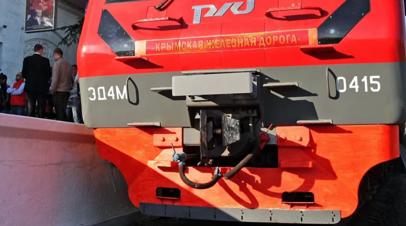 Новые электрички Севастополь — Евпатория начнут курсировать в июле