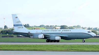 Самолёт наблюдения США Boeing OC-135 Open Skies