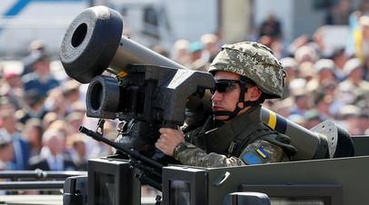 Javelin на параде в честь Дня независимости Украины