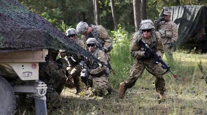 Солдаты армии США в Европе