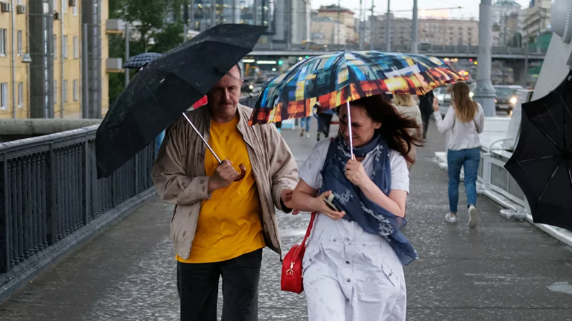 В Москве предупредили о грозе и ветре до 20 м/с