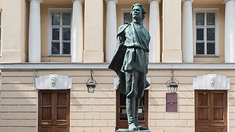 В Москве отреставрируют памятник Максиму Горькому, созданный Верой Мухиной