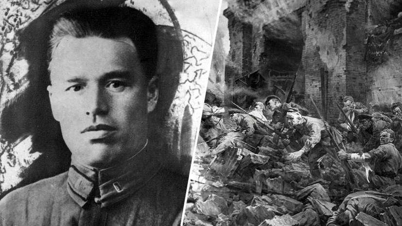 В Татарстане установят бюст Героя Советского Союза Петра Гаврилова