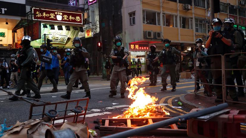 Число задержанных участников протестов в Гонконге превысило 300
