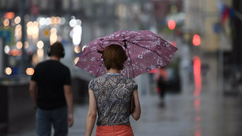 В Москве рекомендовали закрыть летние веранды из-за непогоды