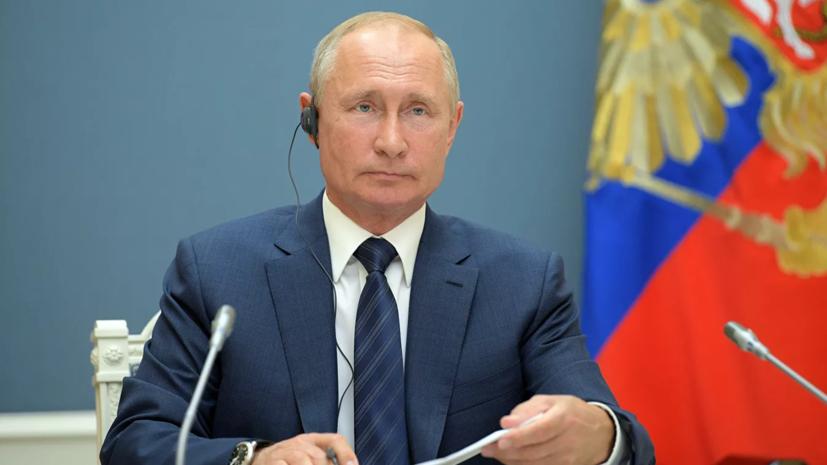 Путин рассказал о проекте заявления России, Турции и Ирана по Сирии