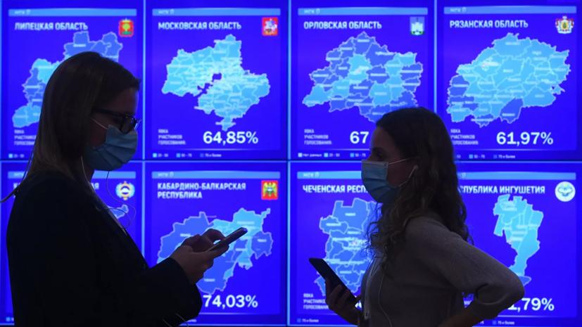 В ЦИК объяснили начало публикации итогов голосования по Конституции
