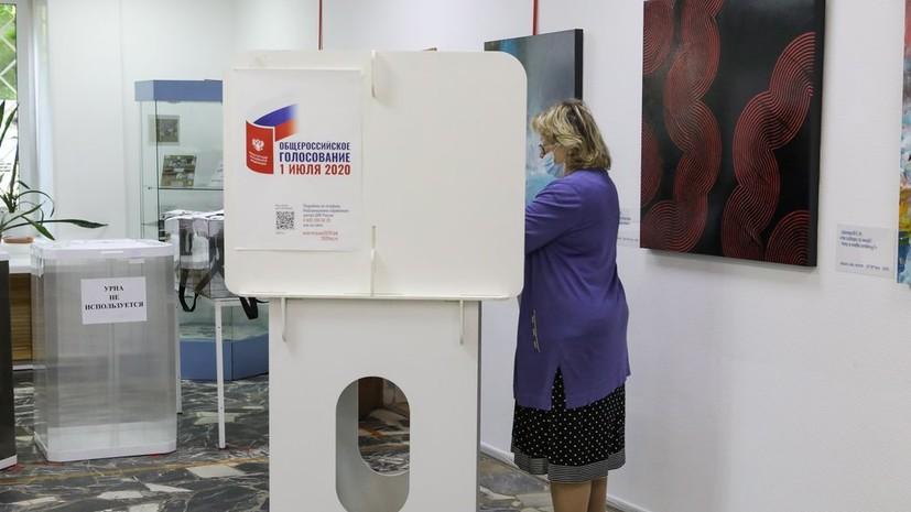 В Москве назвали итоги очного голосования после обработки 34% голосов