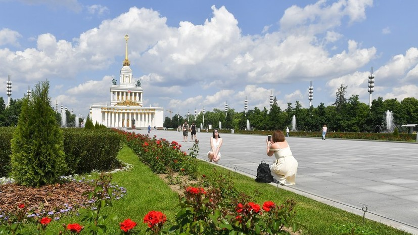 В Москве 2 июля ожидается до +27 °С