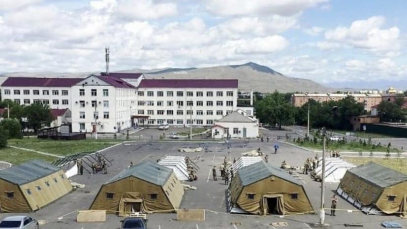 В Туве рассказали о работе мобильного госпиталя