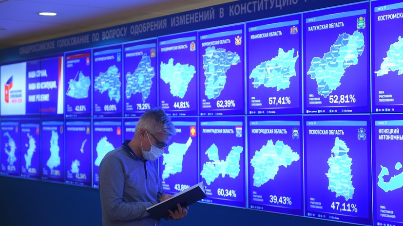 После обработки 100% протоколов: свыше 77% россиян поддержали поправки к Конституции РФ