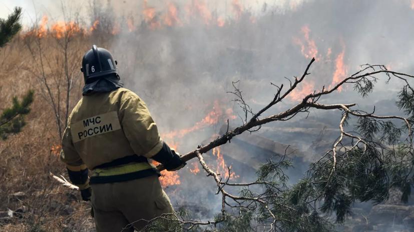 В Якутии ввели режим ЧС из-за лесных пожаров