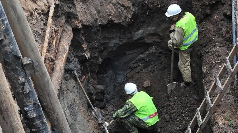 В Москве отреставрировали найденные археологами артефакты XVIII века