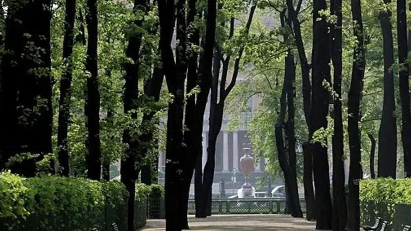 Названы даты открытия Михайловского и Летнего садов в Петербурге