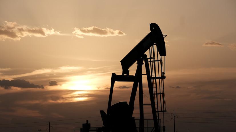 Цена нефти марки Brent превысила $43 за баррель